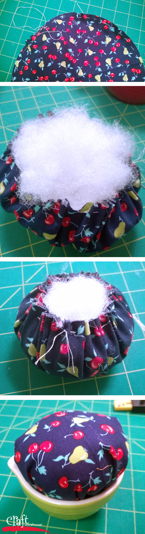 How to Make Measuring Cup Pin Cushions