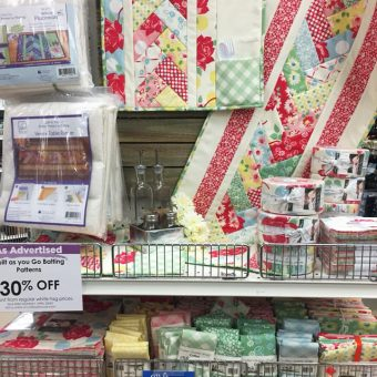 June Taylor Quilt as you Go Patterns at Craft Warehouse