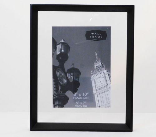 Float Frame - 8-inch x 10-inch - Black