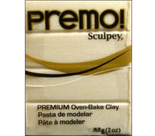 Polyform Premo - Polymer Clay 2-ounce Pearl