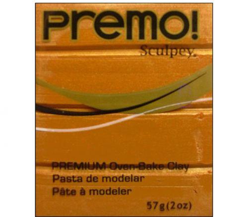 Polyform Premo - Polymer Clay 2-ounce Gold