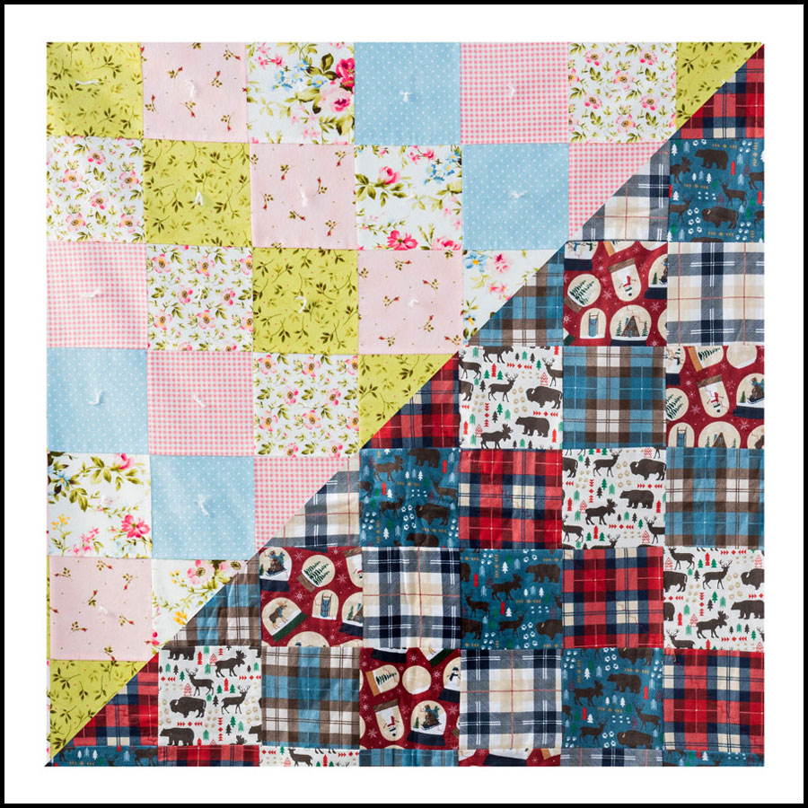 Sew this: Hip to Be Square Quilt – Free Pattern