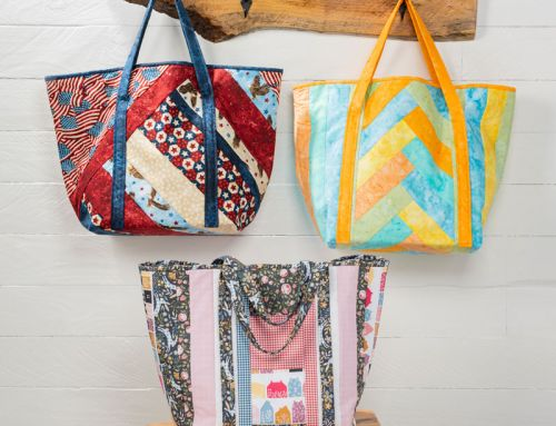Sew this: Easy Shopper Totes by June Tailor