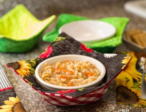 Sew this: Soup Bowl Cozy – Free Pattern