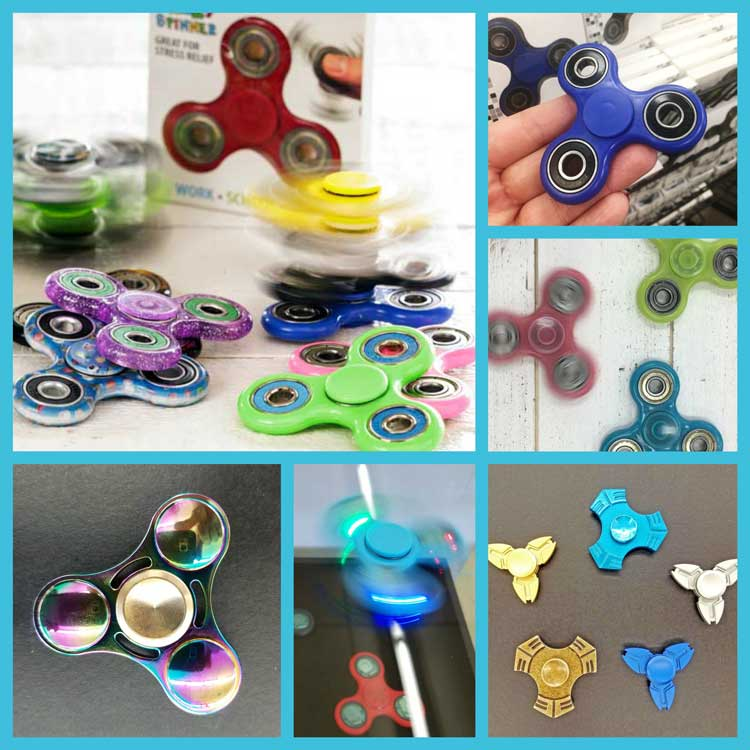 Best Selection of Fidget Spinners at Craft Warehouse