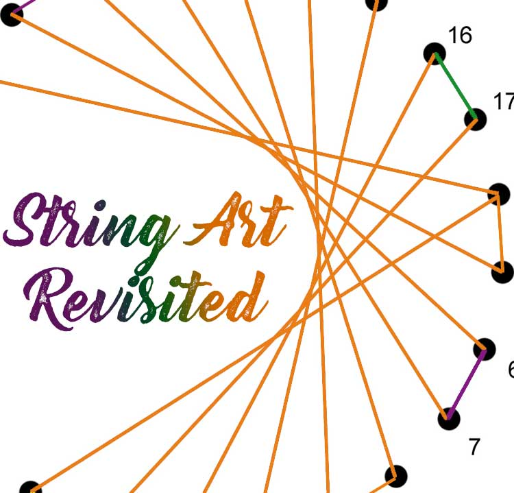 The String Art Trend at Craft Warehouse