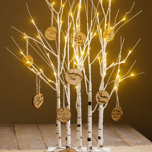 Birch Tree Thanksgiving model