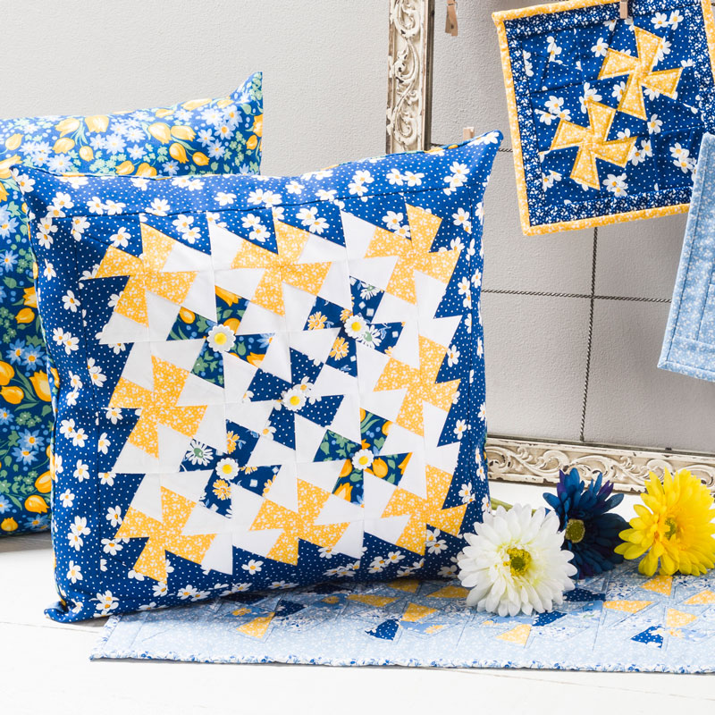 Pillow made with Twister Tool