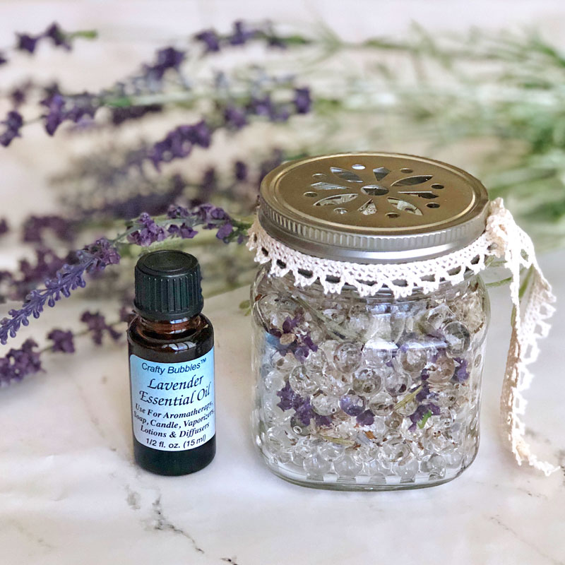 Make a Essential Oil Water Bead Diffuser