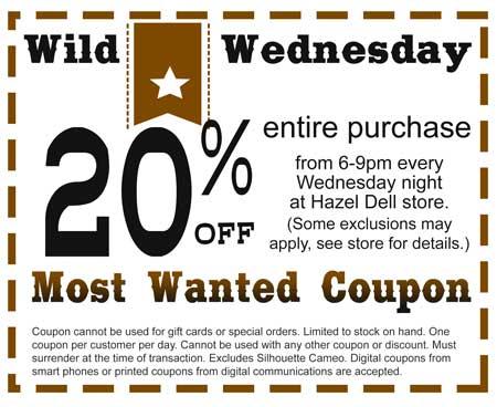 Wild Wednesday @ Hazel Dell Location   Vancouver   Washington   United States